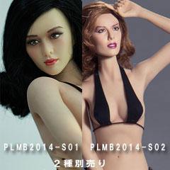 1//6 TBLeague Female Seamless Body Suntan Large Bust S12D w//Steel Skeleton Phicen