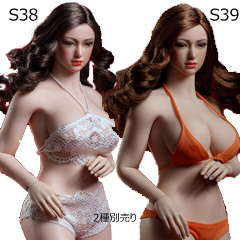 【TBLeague】Female Super Flexible Seamless Bodies head sculpt included PLLB2020-S38 (pale) S39 (suntan)