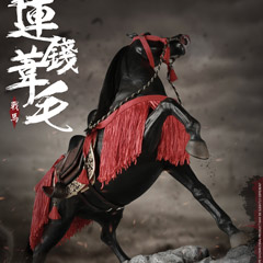 【COO】SE024 1/6 SERIES OF EMPIRES - RENNSENNASIGE THE STEED 連銭葦毛 軍馬 1/6スケールフィギュア