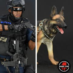 【Soldier Story】SS101 1/6 NYPD ESU K-9 DIVISION ニューヨーク市警察 特殊部隊 K9ディビジョン