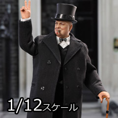 【DID】XK80002 1/12 PALM HERO Prime Minister of United Kingdom - Winston Churchill イギリス首相 ウィンストン・チャーチル