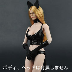 【ZYTOYS】ZY5010 Sexy cat girl costume set 1/6スケール 女性コスチューム