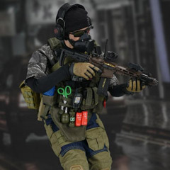【EASY&SIMPLE】26039 PMC Urban Operation Assaulter 3 1/6スケールミリタリーフィギュア