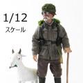 【POPtoys】BGS003 1/12 Bean Gelo Series Sniper Geezer--Weber WW2 ドイツ軍 ヴェーバー 1/12スケールフィギュア