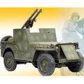 【サイバーホビー】CH71442 1/6 WW.II アメリカ軍 1/4トン 4x4 小型軍用車 装甲バージョン バズーカ砲搭載型