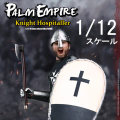 【COO】PE003 1/12 POCKET EMPIRES - HOSPITALLER KNIGHT 十字軍 騎士 1/12スケールフィギュア