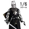 【COO】SE050 WF2019 1/6 THE CRUSADER/HOSPITALLER KNIGHT 十字軍戦士 聖ヨハネ騎士団 上海ワンフェス2019版 1/6スケールフィギュア