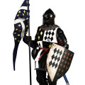 【COO】SE2001 1/6 SERIES OF EMPIRES (DIECAST ALLOY) - GENERAL GUARDS (BLACK KNIGHTS WF LIMITED VERSION)