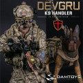 【DAM】No.78040 ELITE SERIES DEVGRU K9-handler in Afghanistan (K9 犬 付属) アメリカ海軍特殊戦開発グループ 1/6フィギュア