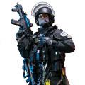 【DAM】No.78061 ELITE SERIES 1/6 FRENCH POLICE UNIT - RAID IN PARIS フランス国家警察特別介入部隊 1/6フィギュア