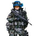 【DAM】No.78067 1/6 Chinese Peacekeeper Female soldier 中国人民解放軍 平和維持部隊 国連平和維持活動 PKO 女性兵士