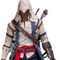 【DAM】DMS010 Assassin's Creed III Connor 1/6th scale Aguilar Collectible Figure アサシンクリード3 コナー 1/6スケールフィギュア