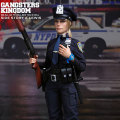 【DAM】GKS003 Gangsters Kingdom SIDE STORY:OFFICER A.LEWIS ルイス 女性警察官 1/6フィギュア