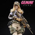 【DAM】DCG001 COMBAT GIRL Series Gemini Zona コンバットガール ゾーナ 女性兵士 1/6スケールフィギュア
