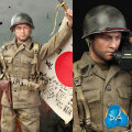 【DID】A80129 WW2 US Army 77th Infantry Division Captain Sam アメリカ陸軍 第77歩兵師団 大尉 サム