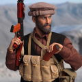【DID】I80111 The Soviet-Afghan War 1980s Afghanistan Civilian Fighter - Asad アフガニスタン紛争 アフガン民兵 アサド