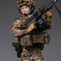 【DAM】DMS015 1/6 OPERATION RED SEA 紅海行動 オペレーション:レッドシー 蛟龍 中国人民解放軍海軍 特種部隊 女性兵士 機関銃手