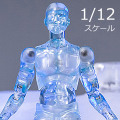 "【DAM】DPS05 1/12 SCALE ACTION FIGURE ""FREEZEMAN"" フリーズマン デッサン人形"