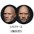 【Eleven X Kai】EK01A / EK01B 1/6 Scale male head sculpt 1/6スケール 男性ヘッド
