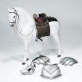 【POPtoys】EX019C 1/6 Saint Knight—War horse 聖騎士 ウォーホース 軍馬 白馬 1/6スケール馬フィギュア