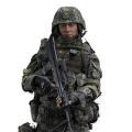 【FLAGSET】FS-73019 PLA Army Soul- Series Army machine gunner 中国人民解放軍 軍魂 陸軍機関銃手 1/6スケールミリタリーフィギュア