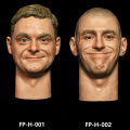 【Facepoolfigure】FP-H-001 / FP-H-002 1/6スケール 男性ヘッド