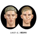 【Facepoolfigure】FP-D-001/FP-D-002 1/6スケール 男性ヘッド