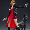 【Swtoys】FS026 レッドドレス&ブラックジャケット女性 3.0 1/6スケール 女性ドール フィギュア ゾンビ犬付属