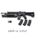 【GENERAL】GA-001 1/6 HK416D +M203 1/6スケール アサルトライフル