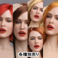 【GACTOYS】GC017 European women's head carving 1/6スケール 植毛 女性ヘッド