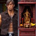 【DAM】GK019AB set Gangsters Kingdom Club 4 YaoTian & TABERNACLE ヤオ・ティエン & 仏壇・神棚・厨子 1/6スケールフィギュア