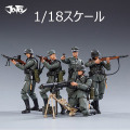 【JOYTOY】JT0449 1/18 WW2 Wehrmacht 第二次世界大戦 ドイツ国防軍 兵士 5体セット 1/18スケールフィギュア