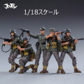 【JOYTOY】JT0456 1/18 WW2 Mountain Division (Wehrmacht) 第二次世界大戦 ドイツ国防軍 兵士 5体セット 1/18スケールフィギュア