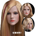 【JXtoys】JX-028 ABC beauty headsculpt 1/6スケール 植毛 女性ヘッド hk-3489