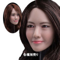 【JXtoys】JX-029 AB asian beauty headsculpt 1/6スケール 植毛 女性ヘッド hk-3498
