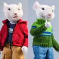 【JxK.Studio】JXK032C Pockets Animals 7Inch 動物擬人化シリーズ ネズミ 白 (2体セット)