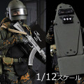 【crazyfigure】LW007 1/12 Russian Alpha Special Forces Heavy Shield Hand スペツナズ ロシア連邦保安庁特殊任務部隊