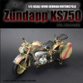 【Battlefield Toys】M78001C 1/6 WW2 ZUNDAPP KS 750 MOTORCYCLE  ドイツ国防軍 ツェンダップKS750 オートバイ(迷彩)