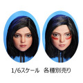 【MR TOYS】MT2020-07AB 1/6 Eye-moving Female Headsculpt 眼球可動 1/6スケール 植毛 女性ヘッド