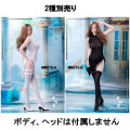【Manmodel】1/6 figure clothing series MM015AB High split translucent cheongsam dress suit 1/6スケール 女性コスチュームセット