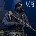 【DAM】PES001 1/12 POCKET ELITE SERIES: SAS CRW Assaulter イギリス陸軍特殊空挺部隊 アサルター 1/12スケールフィギュア