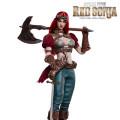 【TBLeague】PL2019-140-A Steam Punk Red Sonja スチームパンク レッドソニア 通常版 1/6スケール シームレス女性ボディフィギュア