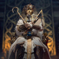 【TBLeague】TBリーグ PL2021-178B 1/6 Pharaoh Tutankhamun WHITE 古代エジプト第18王朝ファラオ ツタンカーメン ホワイト版
