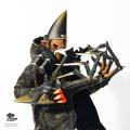 【PLAYDRAW】1:6 scale Original Design 瘋神系列 雷震 1/6スケールフィギュア