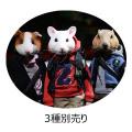 "【MR.Z】7"" Pocket Zootopia Collection-Series No.4 pzcs009-011 ポケットズートピア シリーズ4 各種 ラット モルモット マーモット"