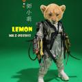 "【MR.Z】PZCS013 7"" Pocket Zootopia Collection-Series No.6 Baby Lion Lemon ポケットズートピア ベイビー ライオン"
