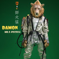 """【MR.Z】PZCS014 7"""" Pocket Zootopia Collection-Series No.6 LION Damon ポケットズートピア ライオン"""