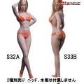 【TBLeague】PHMB2019-S32A (pale) S33B (suntan) TBリーグ 1/6スケール シームレス女性ボディ (ヘッドなし)