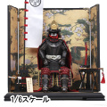 【COO】SE041 1/6  BLACK CATTAILL ARMOR OF ODA NOBUNAGA (LEGENDARY VER.) 織田信長 具足 伝奇Ver. 1/6スケール 鎧・甲冑セット
