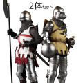 【COO】SE069 1/6 SERIES OF EMPIRES(DIECAST ARMOR) - ORDER OF THE SACRED GARTER (DOUBLE-FIGURE SET OF ENGLISH KNIGHTS)
